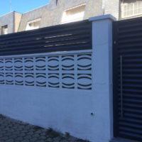Instalación Valla Puertas Metálicas Sánchez