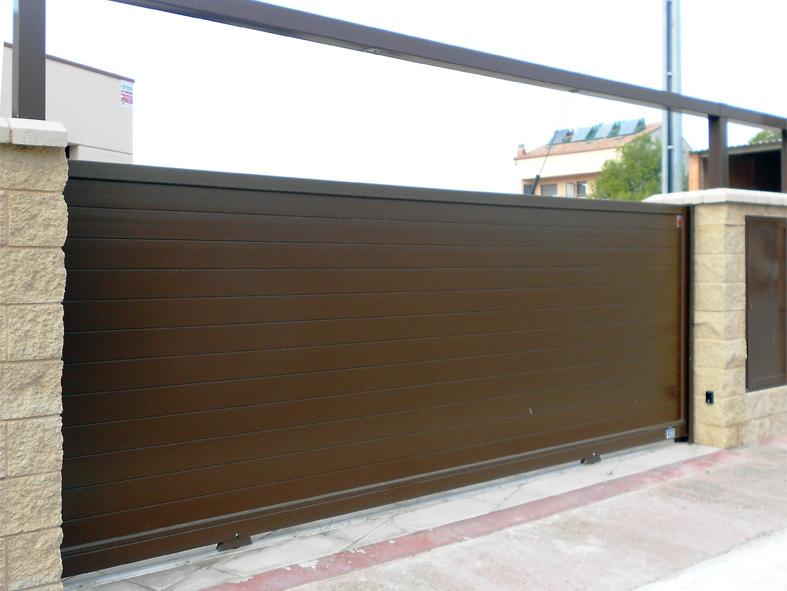 Puertas Correderas para garajes